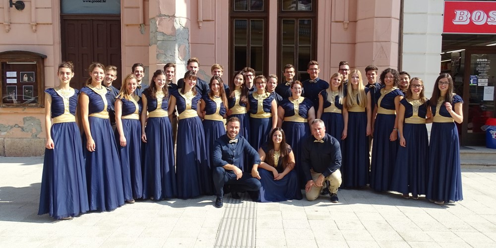 A Wing Singers sikere a Croatia Cantat-on