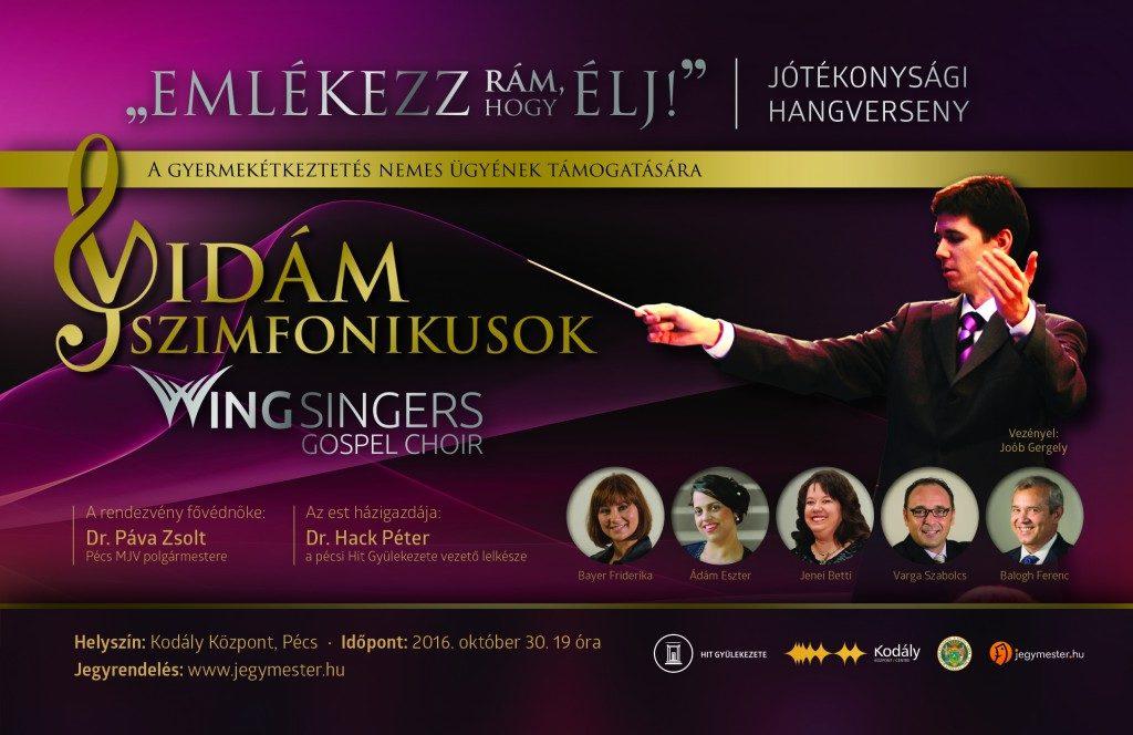 A Vidám Szimfonikusok Pécsen