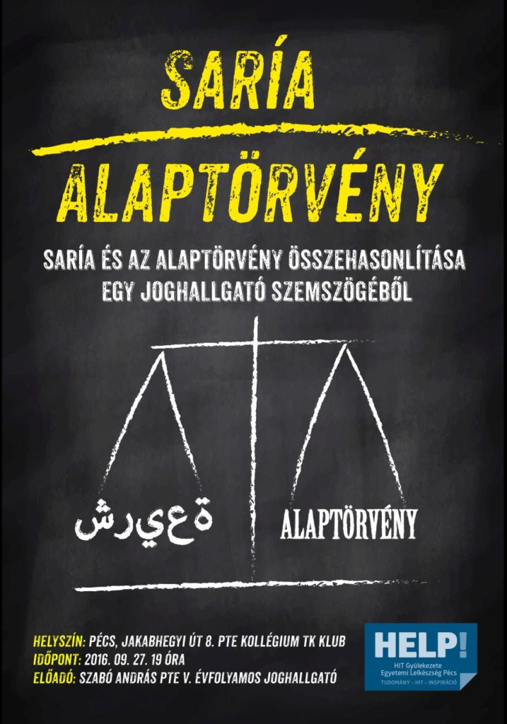 Saría kontra alaptörvény - Szabó András előadása