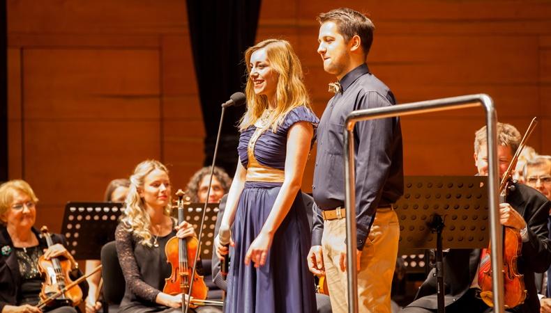 Videóösszefoglaló a pécsi Vidám Szimfonikusok koncertről