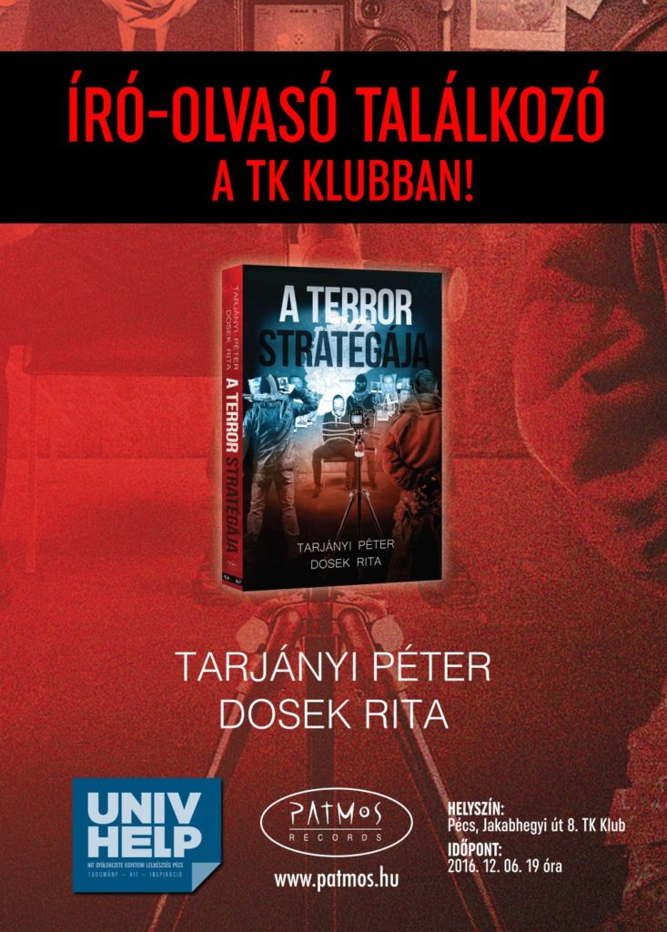 Tarjányi Péter és Dosek Rita - Író-olvasó találkozó a TK Klubban