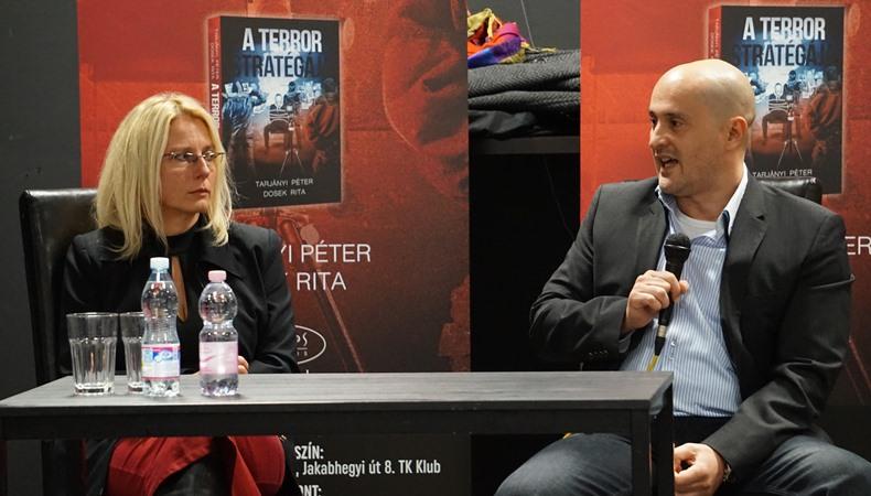 """""""Európa válsága tollért kiáltott!"""" - Író-olvasó találkozó Tarjányi Péterrel és Dosek Ritával"""