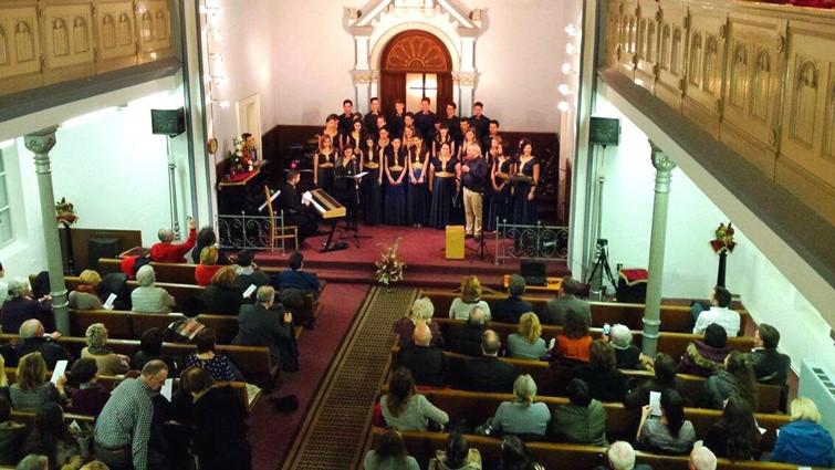 Wing Singers: Fergeteges koncert Eszéken