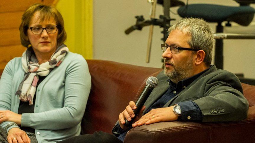 Ifjúsági fórum Lukács Andrással és feleségével, Ibolyával
