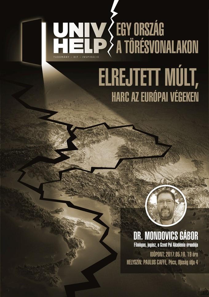 Dr. Mondovics Gábor: Egy ország a törésvonalakon
