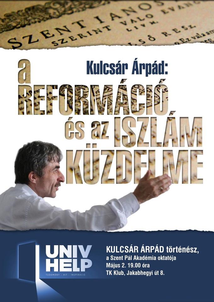 Kulcsár Árpád előadása a TK Klubban