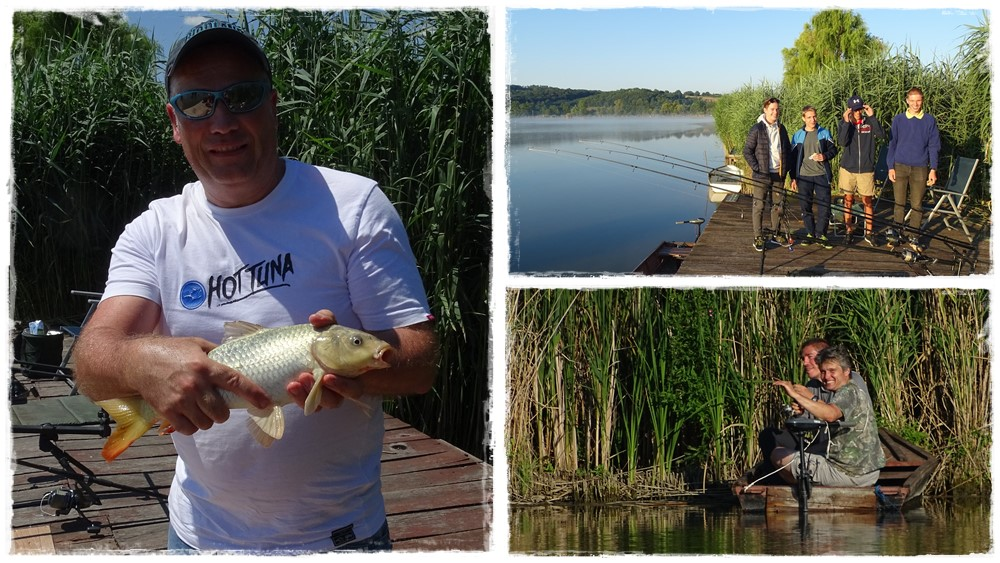 Ifjúsági horgásztábor Almamelléken