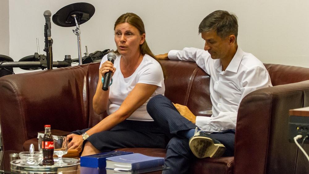 Ifjúsági fórum Dr. Molnár Tihamérrel és feleségével, Zsuzsannával