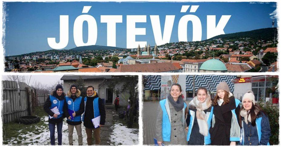 Elindult az 1+1%-os kampány – utcára vonultak a pécsi JÓTEVŐK!