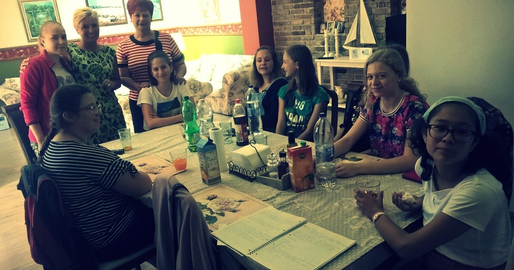 Nagy sikerű főzőtanfolyam a fiatal hölgyek számára