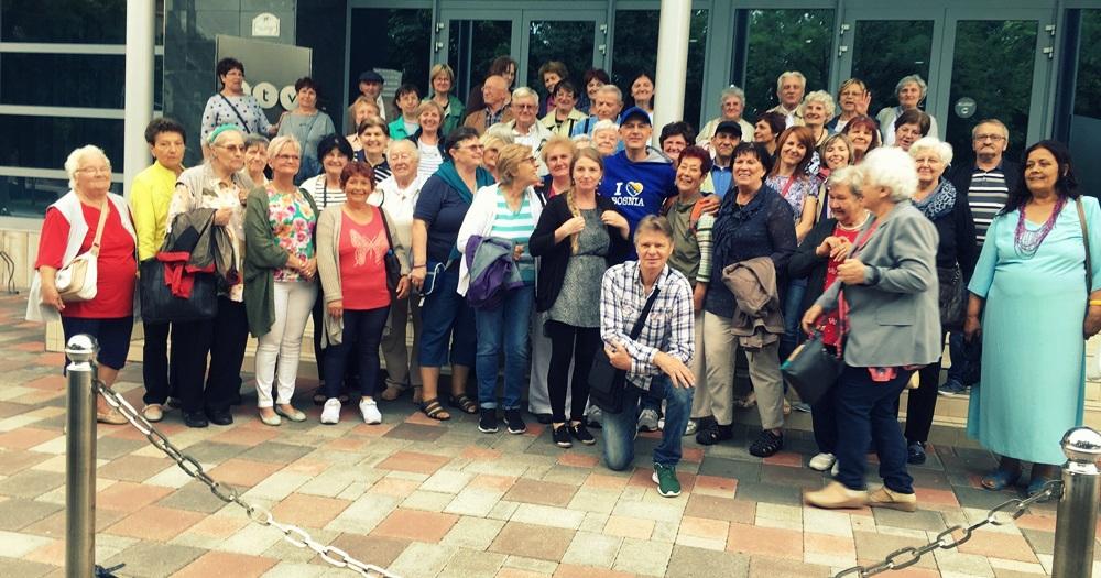 Seniorok bevetésen - Nyugdíjas nap Budapesten