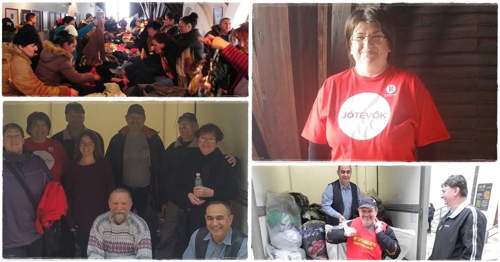 Szigetváron jótékonykodott a Hit Gyülekezete Szeretetszolgálata