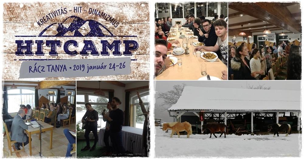 Újabb nagy sikerű Hit Camp zajlott le Orfűn – 2019. január 24-26.