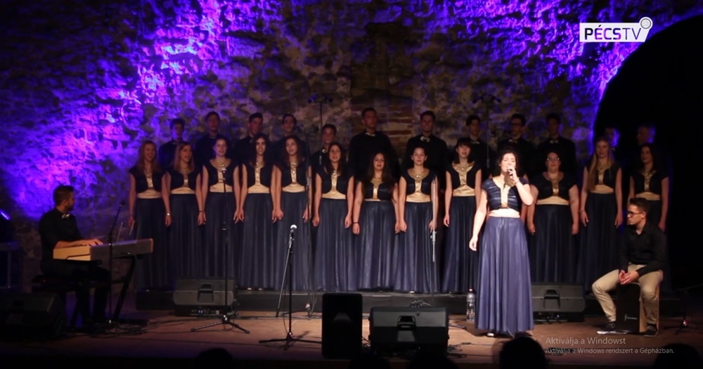 A Wing Singers bemutatkozó videója a Pécs TV-n