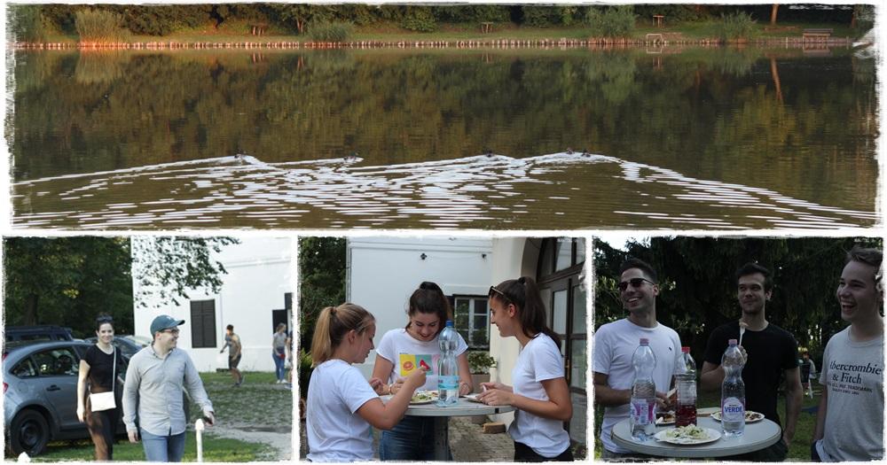 Nyárindító ifi program az Üszögi Batthyány kastélynál