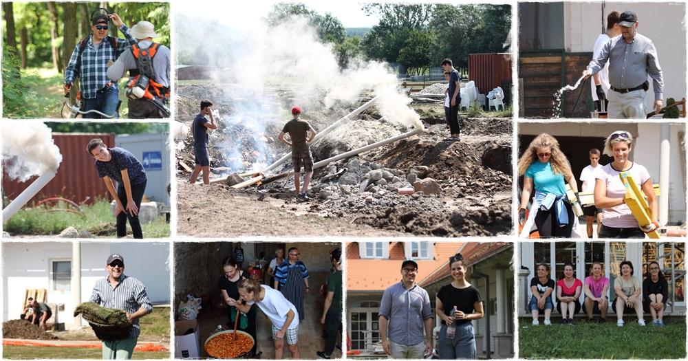 Végső munkálatok a kisapáti Agrosz Rendezvényközpontban