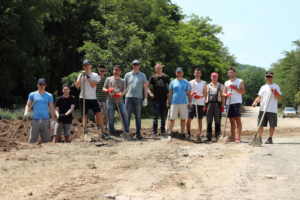 Pécsi munkálatok az Agrosz Rendezvényközpontban - 2019