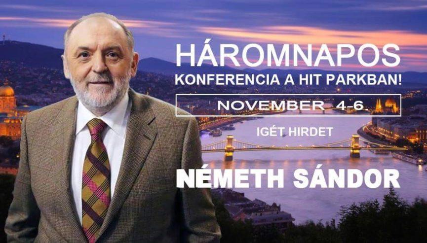 Háromnapos konferencia Budapesten