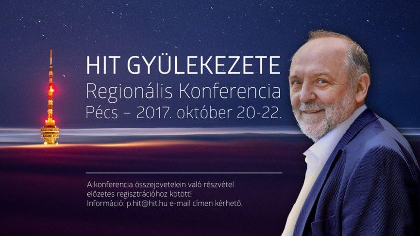 Regionális konferencia Pécett - Igét hirdet: Németh Sándor