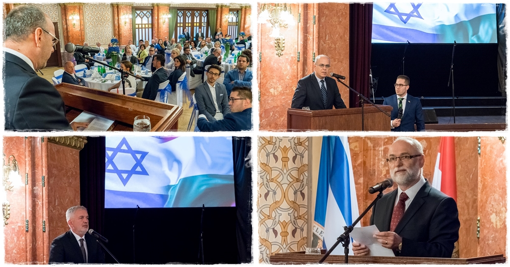 70 éves a modern Izrael – ünnepi fogadás Pécsett