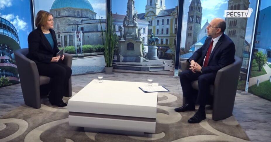 A pécsi Hit Gyülekezete bemutatkozó videója a Pécs TV-n