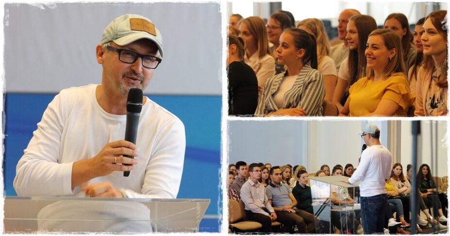 Dr. Flaisz Endre jött Budapestről, hogy beszámolót tartson a gyülekezet missziós szolgálatáról.