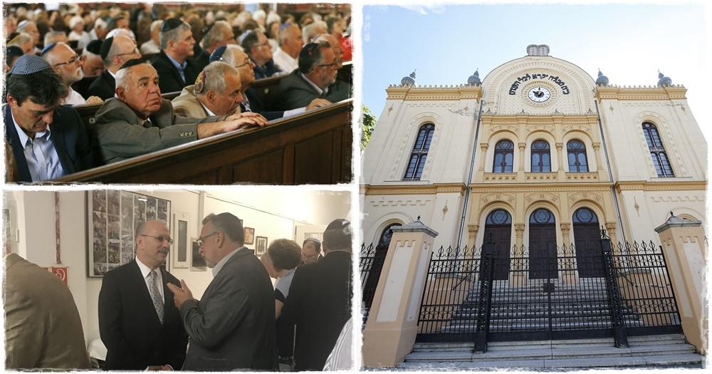 Ünnepség: 150 éves a pécsi zsinagóga